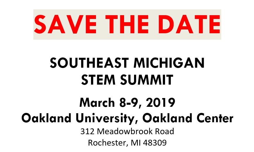 Michigan STEM Partnership - Promoting STEM Education in Michigan Schools - Save_The_Date